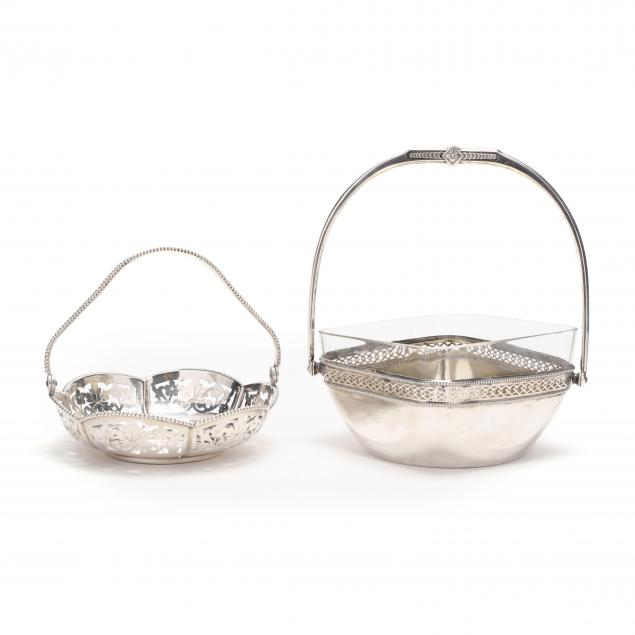 two-vintage-800-silver-baskets