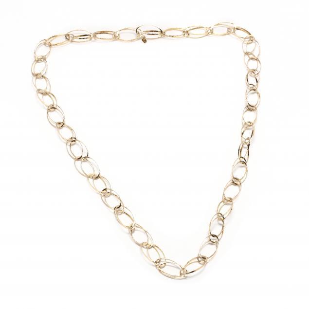 18kt-artist-designed-gold-link-chain-necklace