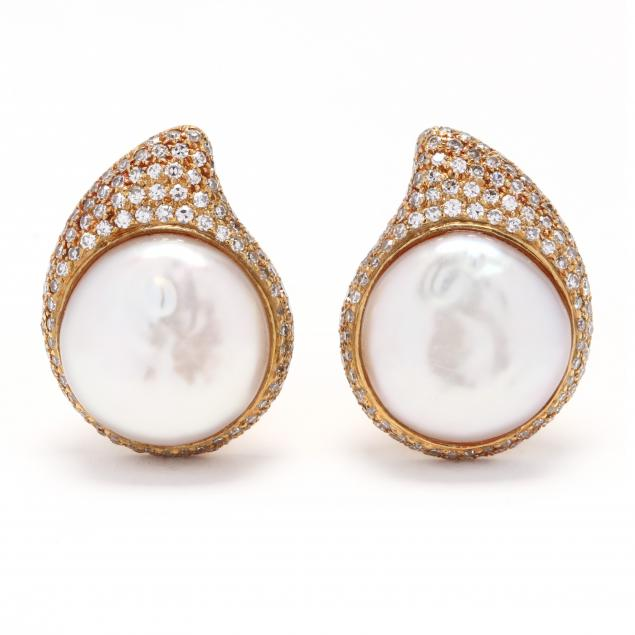 18kt-gold-pearl-and-diamond-earrings-tiffany-co
