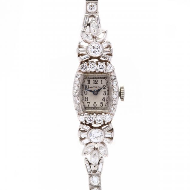 vintage-platinum-and-diamond-watch-hamilton