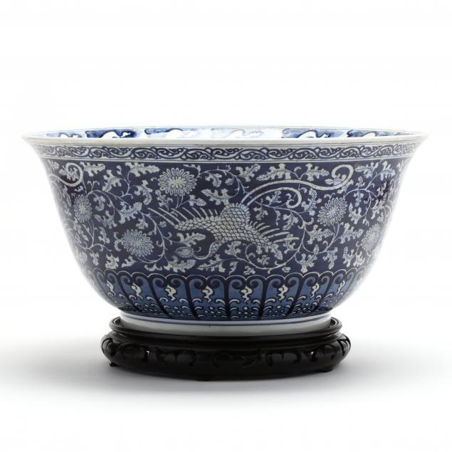 a-large-chinese-blue-and-white-porcelain-punch-bowl