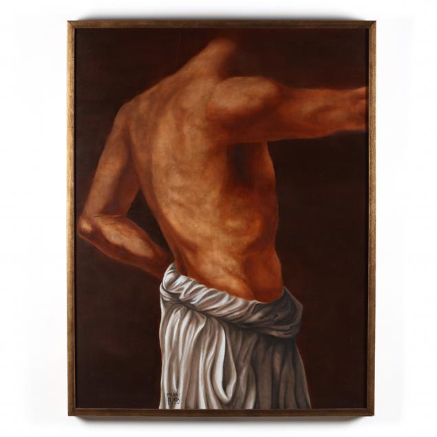 francisco-de-anda-mexican-20th-21st-century-man-with-a-towel