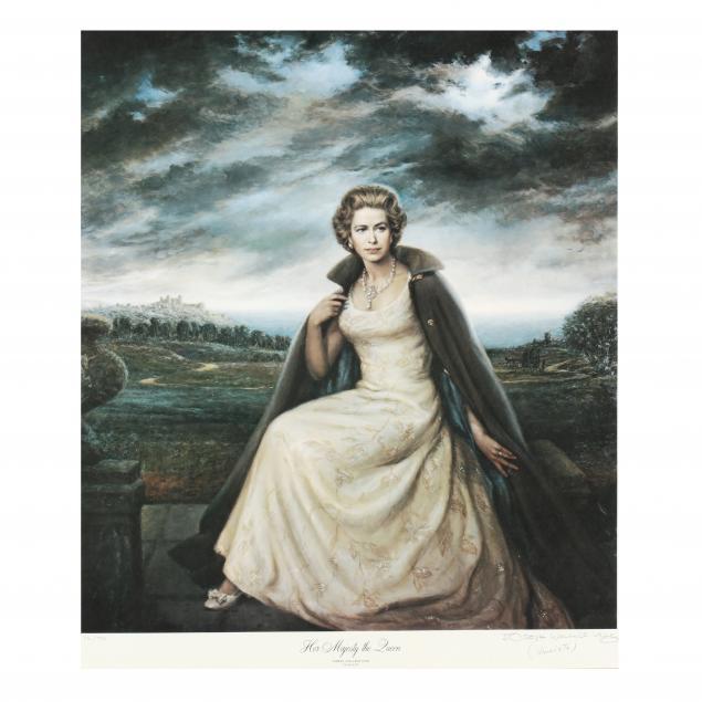 joseph-wallace-king-vinciata-nc-italian-1911-1996-i-her-majesty-the-queen-i
