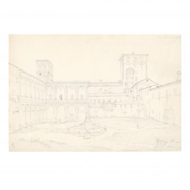french-school-19th-century-interior-courtyard-of-palazzo-venezia