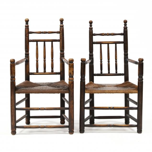pair-of-abe-cassidy-jr-nc-b-1942-bannister-back-armchairs