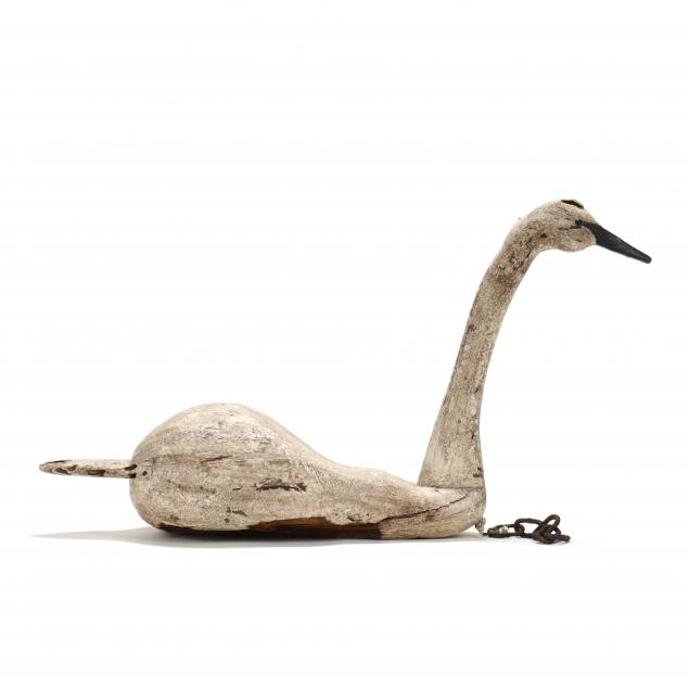ronnie-wade-nc-b-1943-large-working-swan-decoy