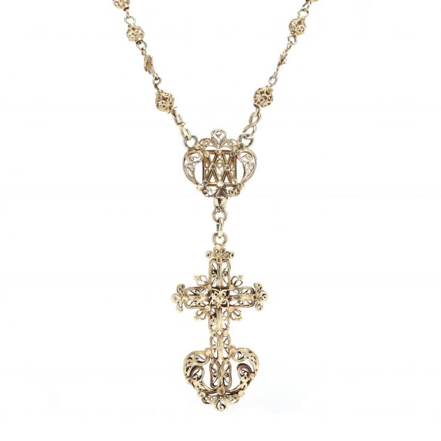 antique-gold-rosary