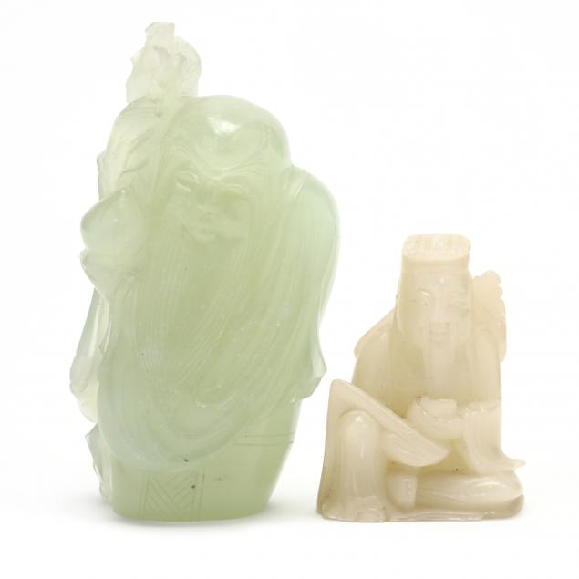 two-chinese-carved-hardstone-figures