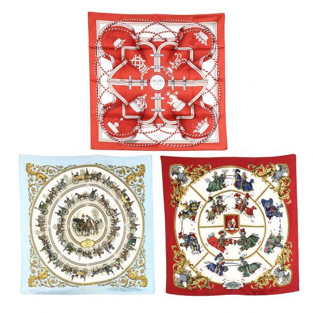three-silk-scarves-hermes