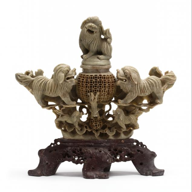 a-chinese-carved-soapstone-urn-with-foo-dogs