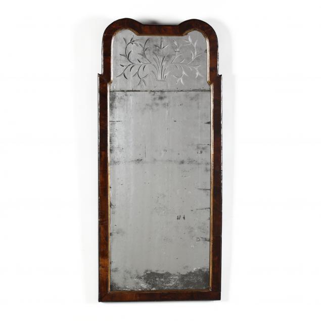 queen-anne-wheel-cut-double-plate-mahogany-mirror