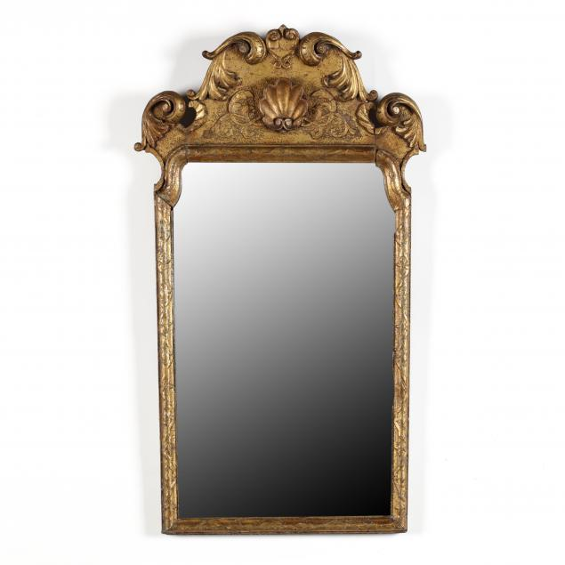 antique-irish-chippendale-style-carved-and-gilt-diminutive-mirror