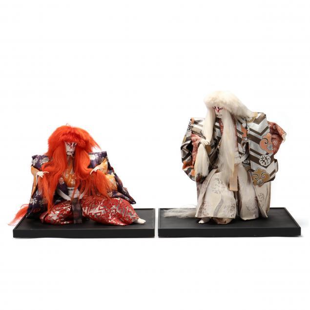 two-japanese-kabuki-dolls