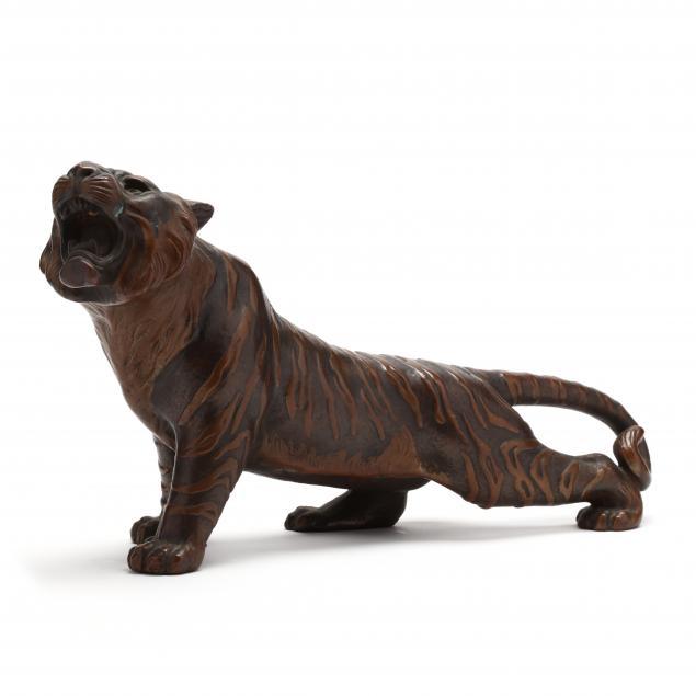 a-japanese-bronze-tiger-okimono