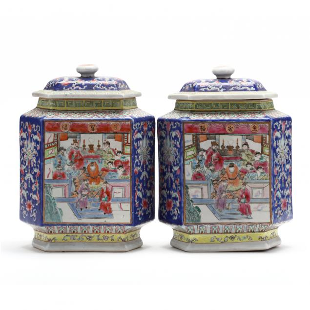 a-pair-of-chinese-porcelain-hexagonal-jars-with-covers