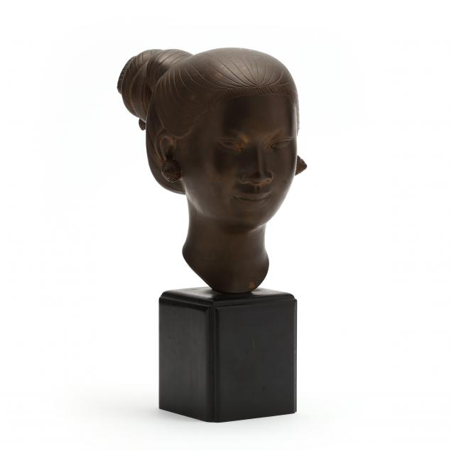 nguyen-thanh-le-vietnamese-1919-2003-head-of-a-girl