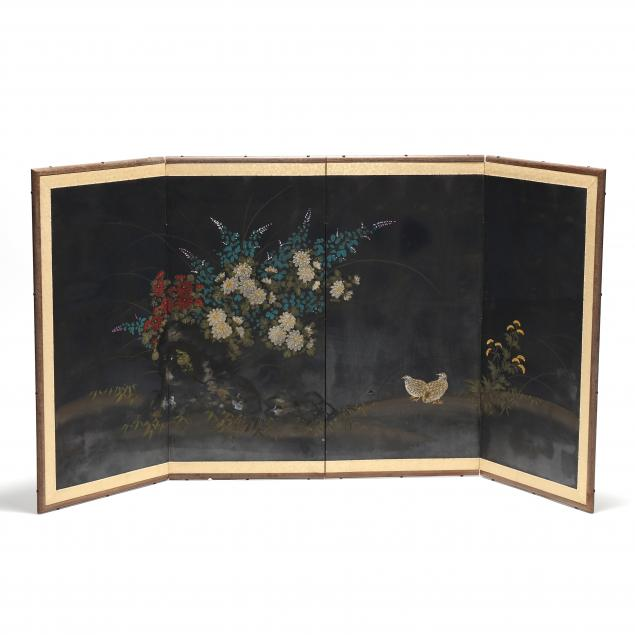 a-japanese-four-panel-folding-screen