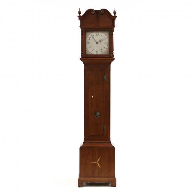bob-timberlake-for-sligh-inlaid-cherry-tall-case-clock