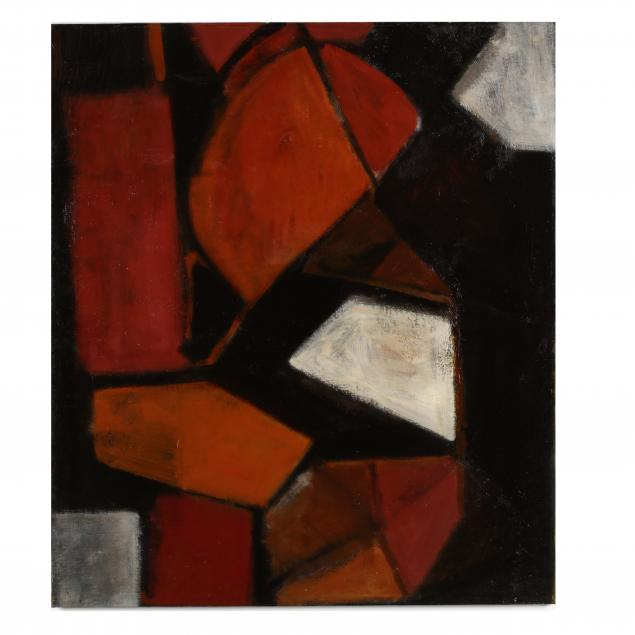 louis-son-1921-1996-geometric-abstract-composition