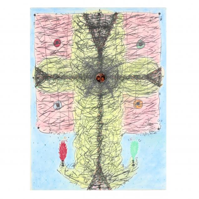 william-fields-nc-b-1940-whimsical-abstraction-with-crucifix