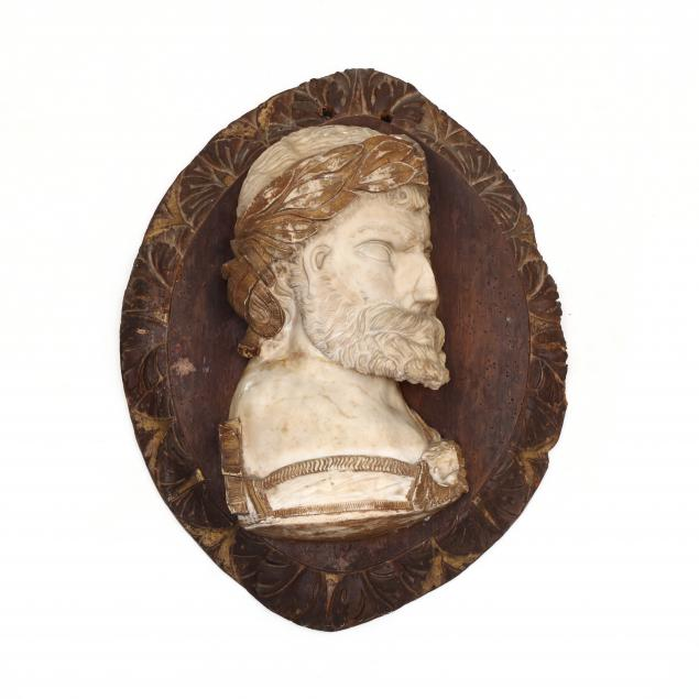 composition-marble-of-a-roman-imperial-fantasy-portrait