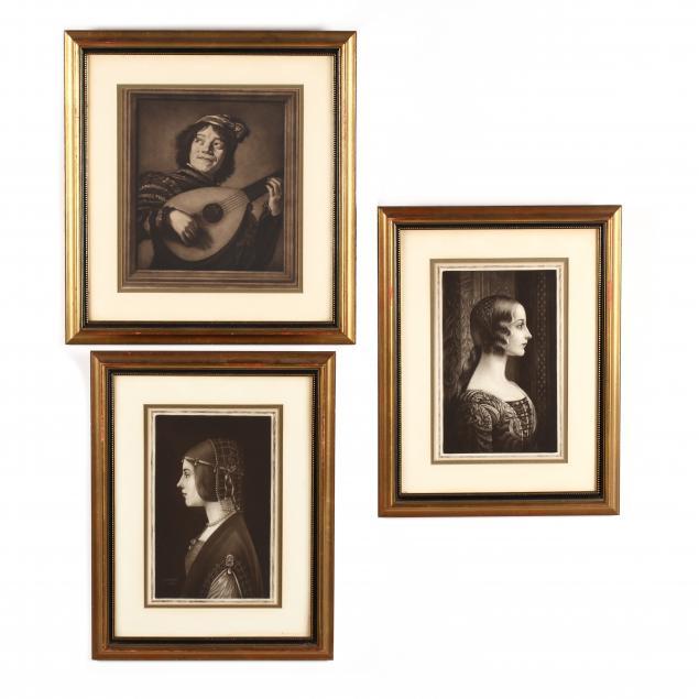 samuel-arlent-edwards-british-1861-1938-three-mezzotint-portraits-after-old-master-paintings