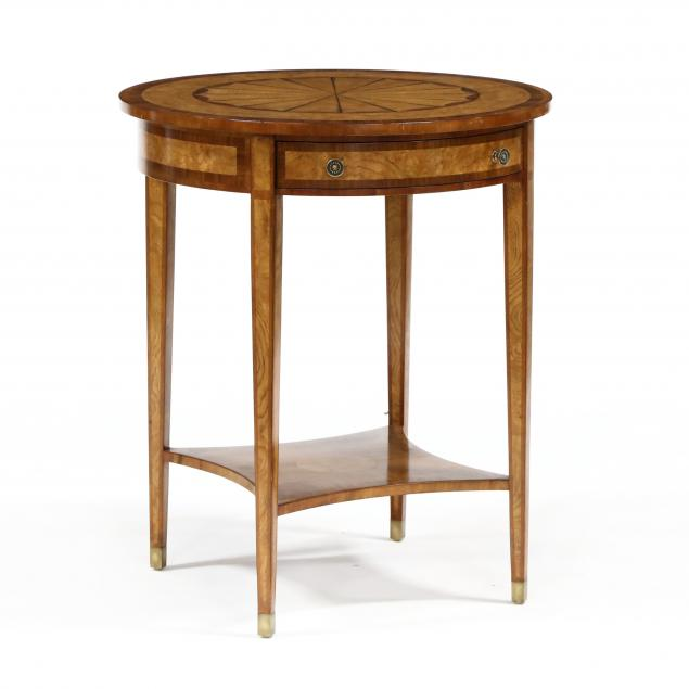 theodore-alexander-regency-style-inlaid-one-drawer-side-table