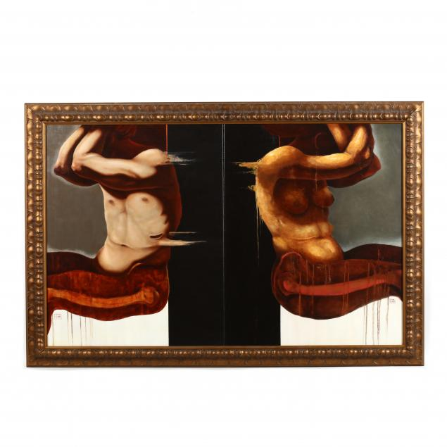 francisco-de-anda-mexican-20th-21st-century-large-diptych-of-adam-eve