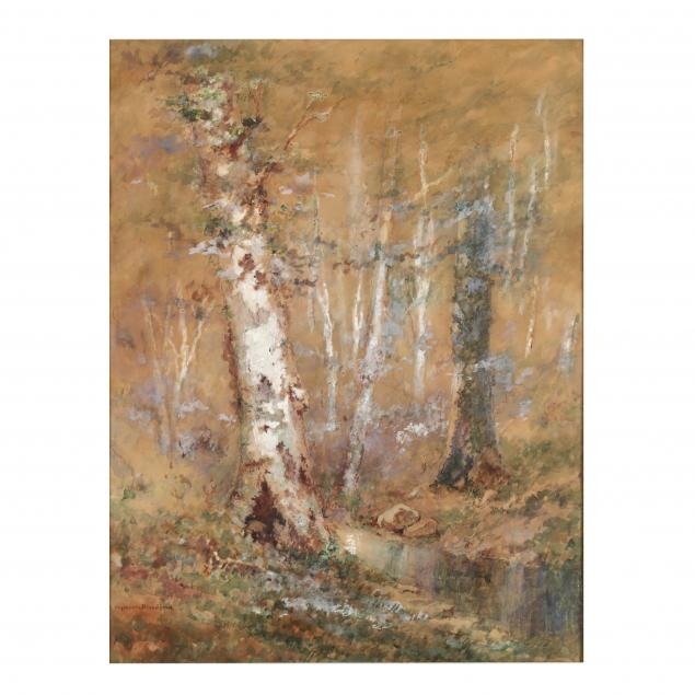 morris-seymour-bloodgood-american-1845-1920-i-stream-in-the-woods-i