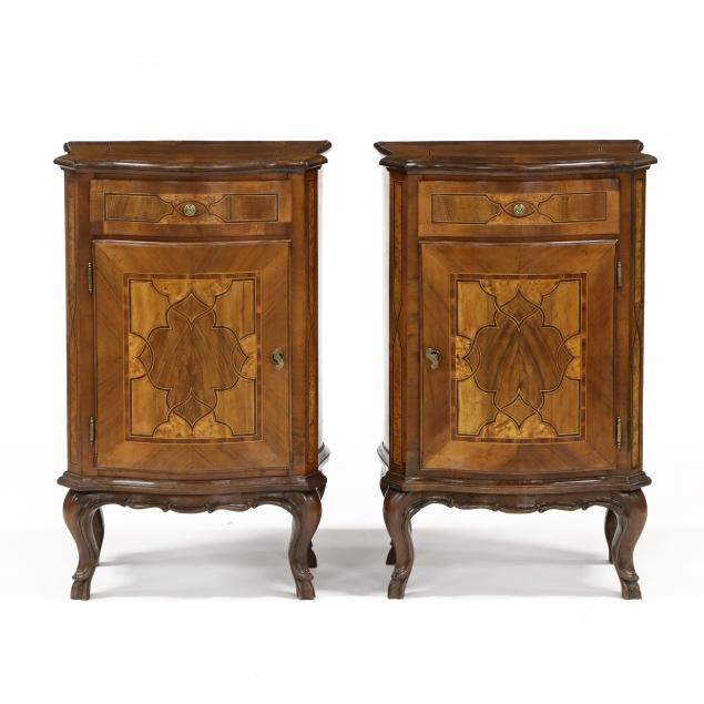 pair-of-italianate-inlaid-walnut-bedside-cabinets