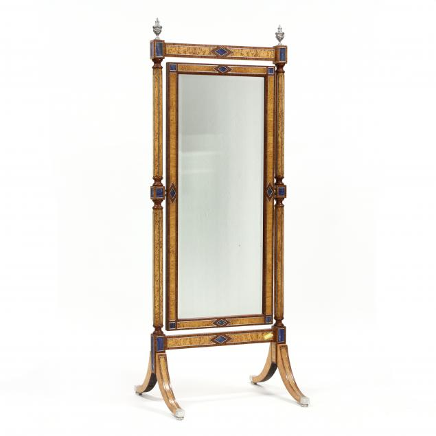 theodore-alexander-hermitage-collection-lapis-inlaid-cheval-mirror