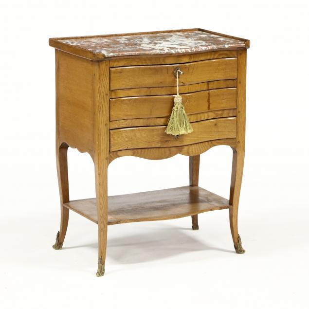 antique-french-marble-top-stand-with-writing-compartment