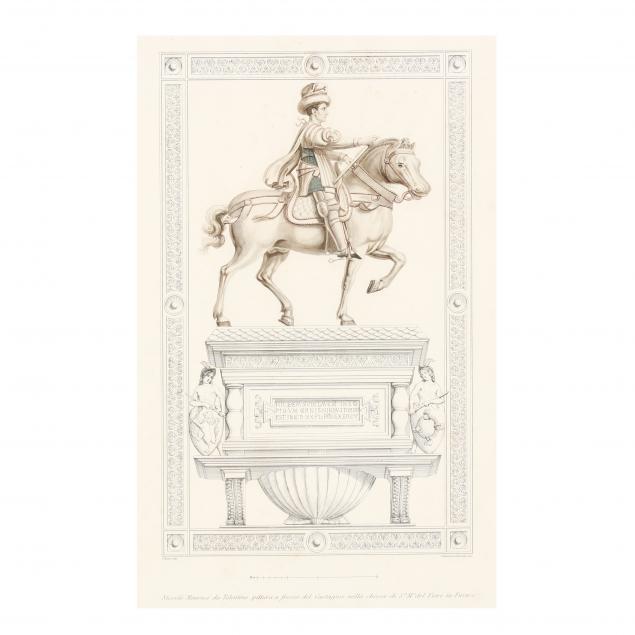 antique-engraving-of-the-equestrian-monument-of-niccolo-da-tolentino