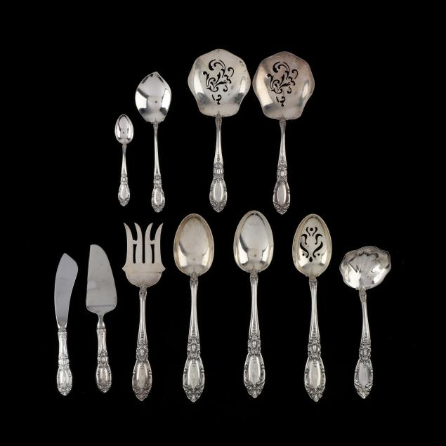 eleven-towle-king-richard-sterling-silver-servers