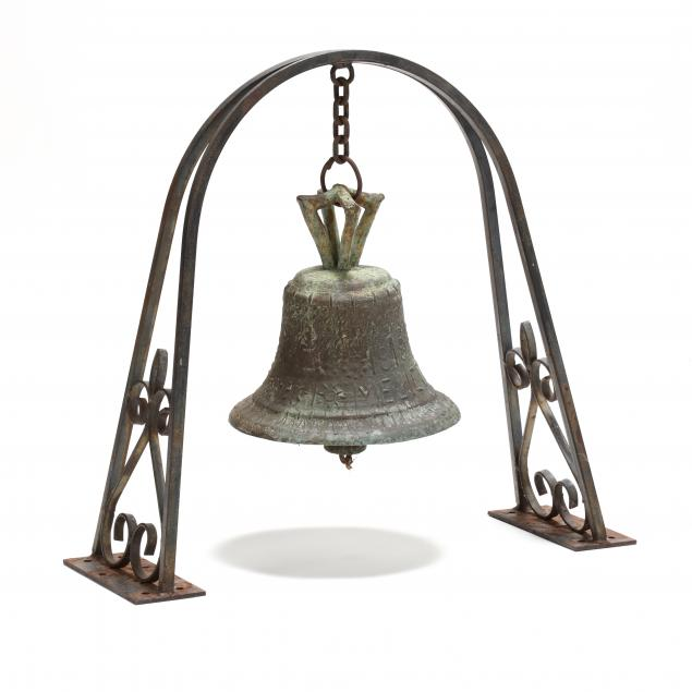 an-early-19th-century-bronze-spanish-colonial-mission-bell