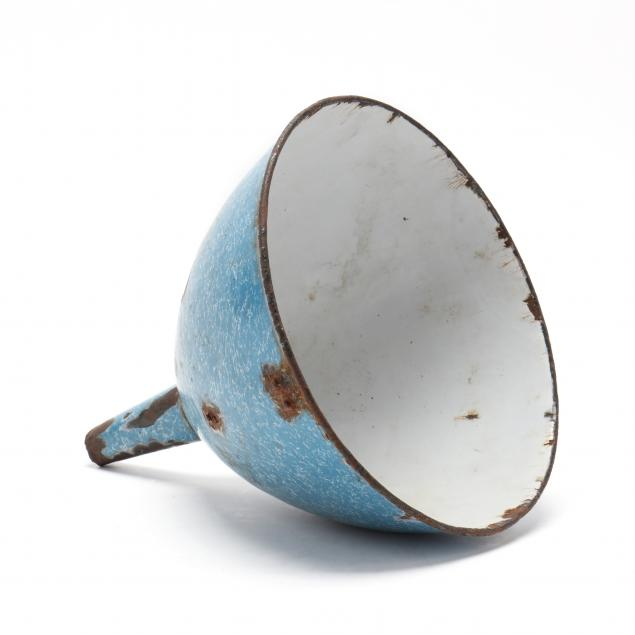large-blue-graniteware-funnel-featured-in-a-bob-timberlake-painting