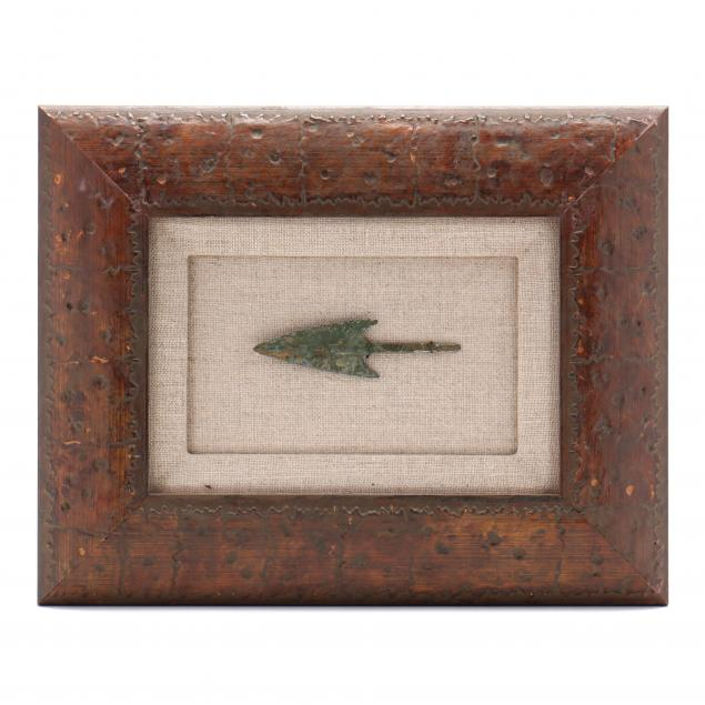 framed-roman-bronze-military-arrowhead