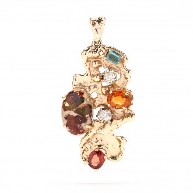 gold-and-multi-gemstone-pendant