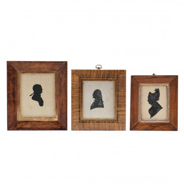 three-20th-century-federal-style-american-silhouette-profiles
