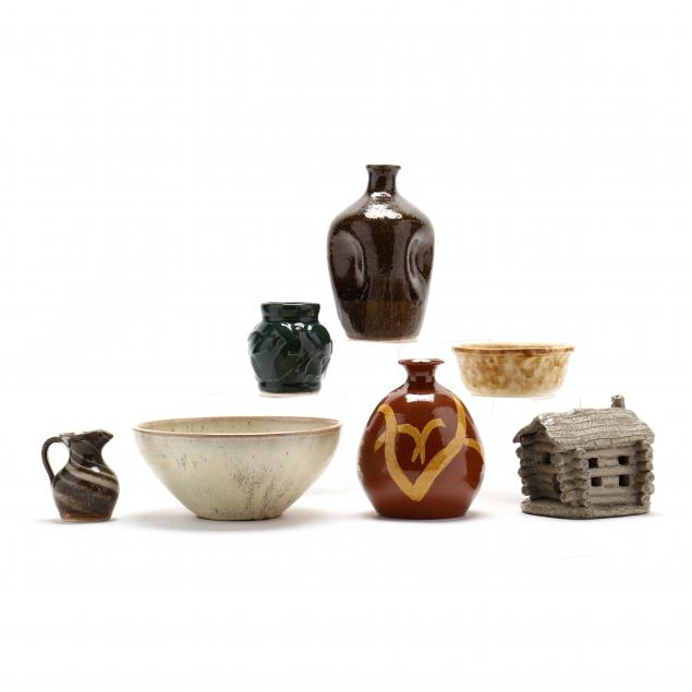 a-selection-of-pottery-seven-vessels