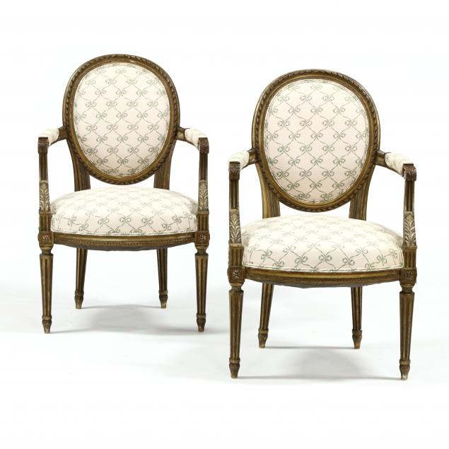 vintage-pair-of-louis-xvi-style-carved-and-gilt-fauteuil