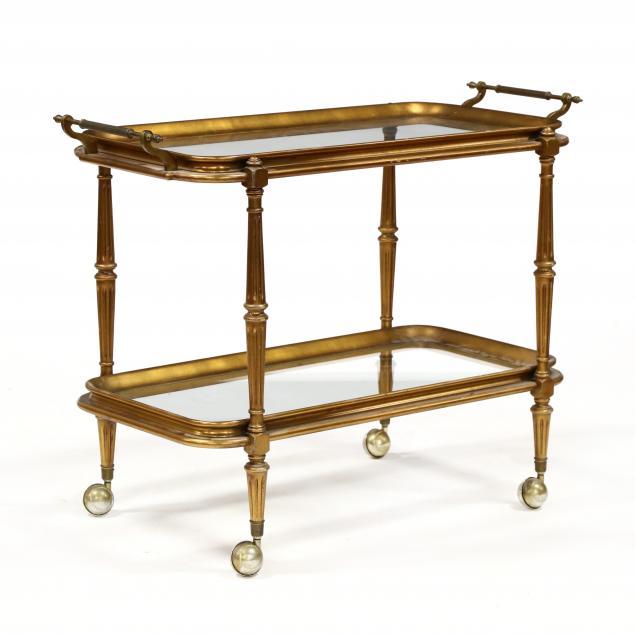 louis-xvi-style-gilt-wood-and-glass-bar-cart