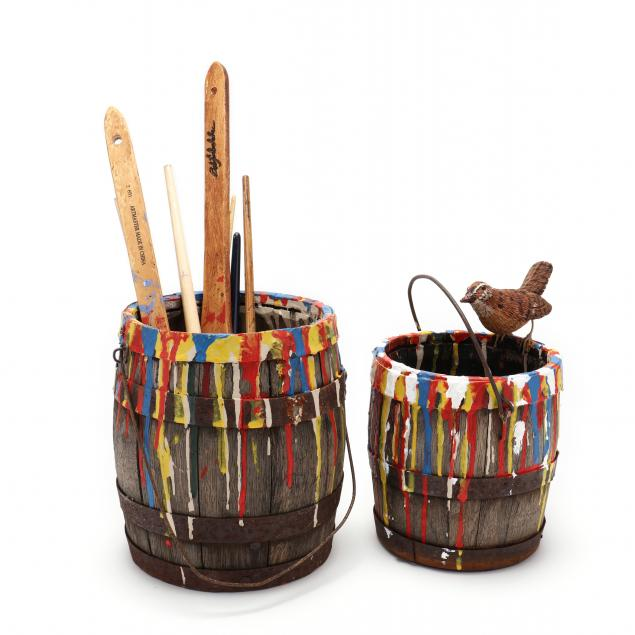 charles-myers-for-bob-timberlake-two-paint-decorated-buckets