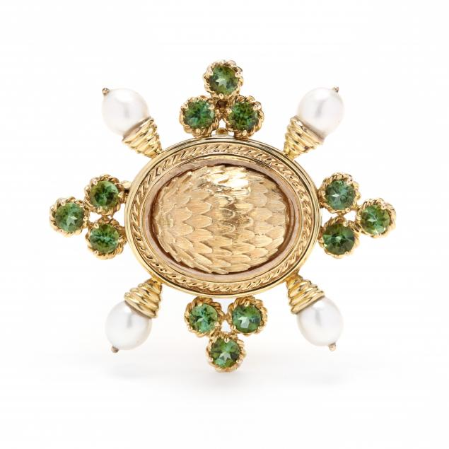 14kt-gold-peridot-and-pearl-brooch-pendant-maz