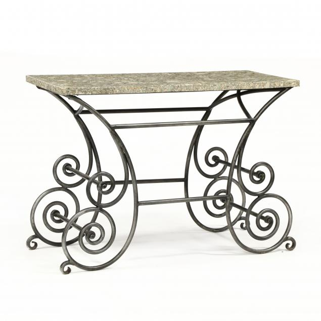 contemporary-stone-and-iron-baker-s-table