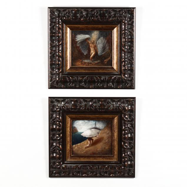 francisco-de-anda-mexican-20th-21st-century-two-allegorical-paintings