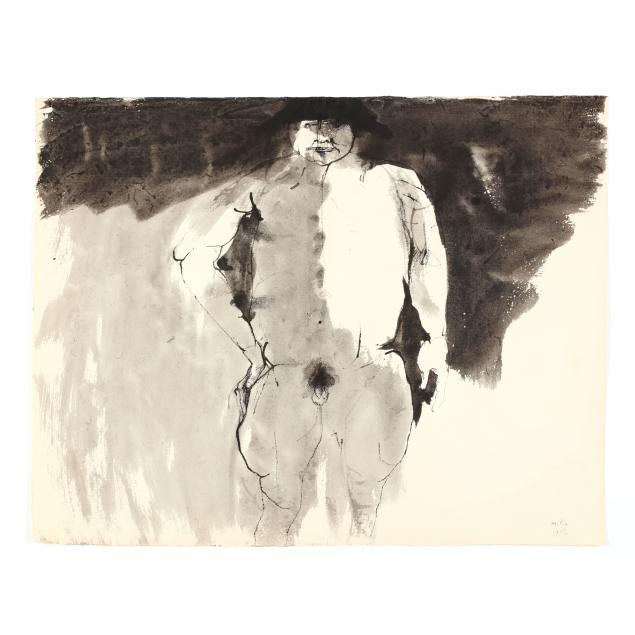 leonard-baskin-ma-ny-1922-2000-male-nude