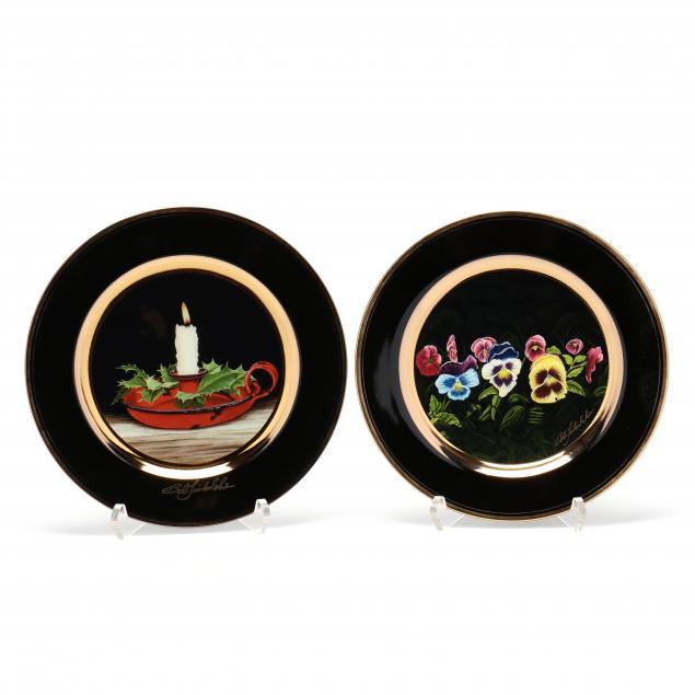 two-limited-edition-ceramic-plates-bob-timberlake