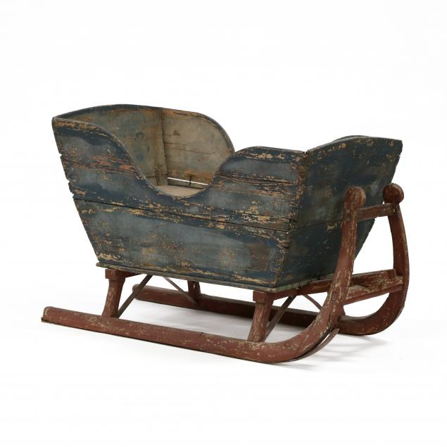 antique-primitive-painted-sled