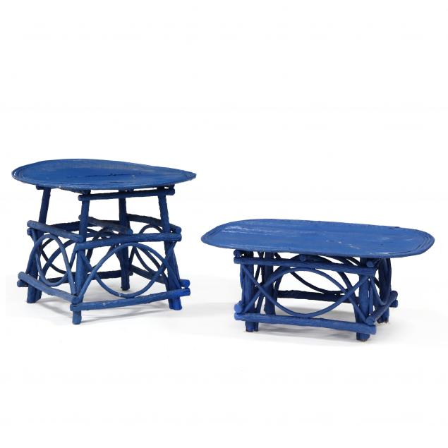 two-vintage-painted-twig-tables